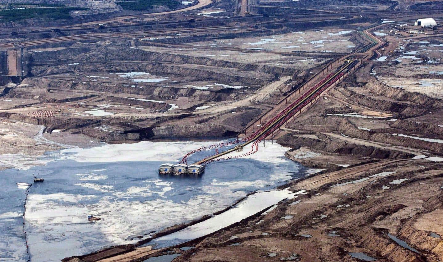Sables bitumineux: la production «in situ» libère des contaminants, dit une étude