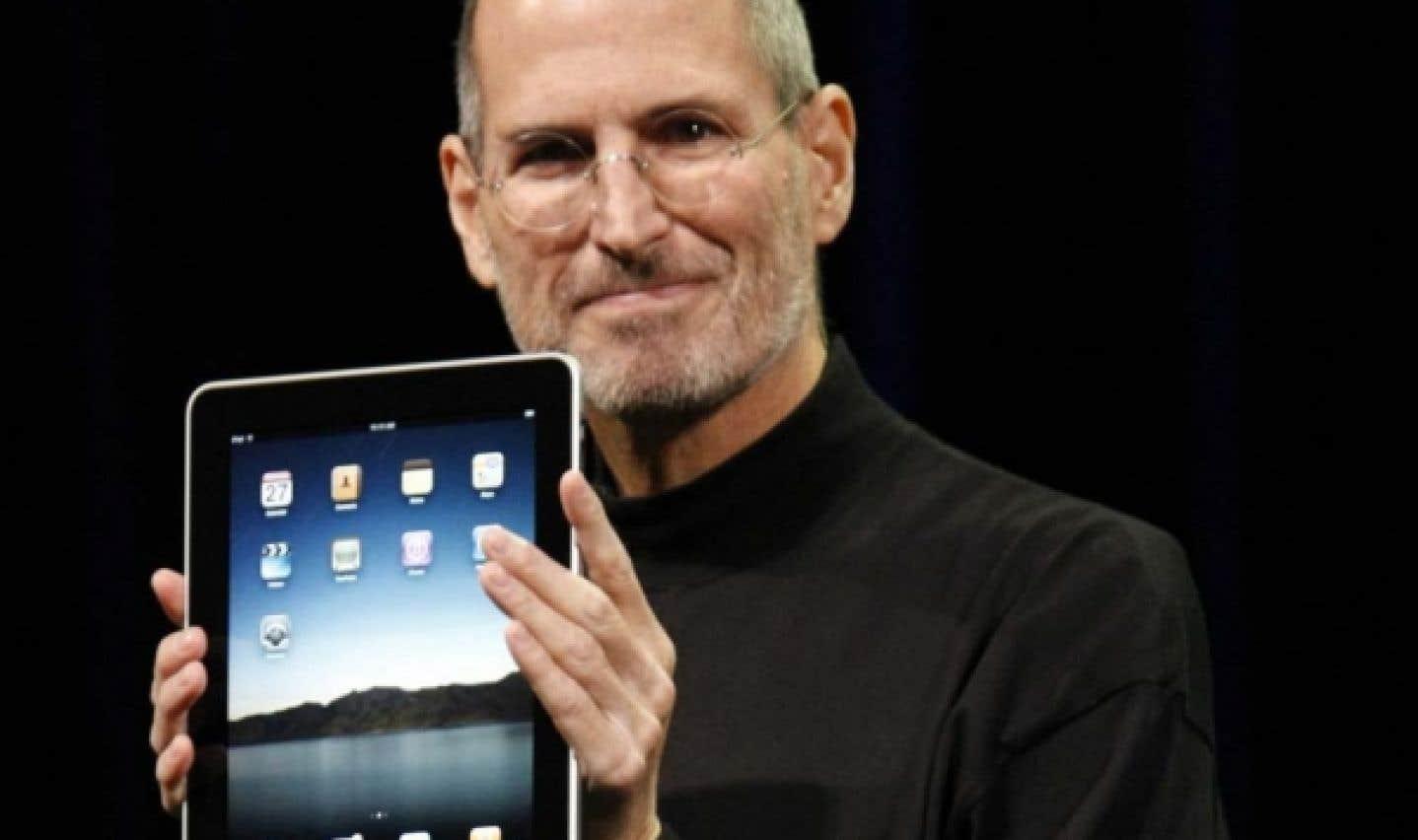 Apple dévoile sa tablette numérique; l'iPad n'arrivera pas au Canada avant l'été