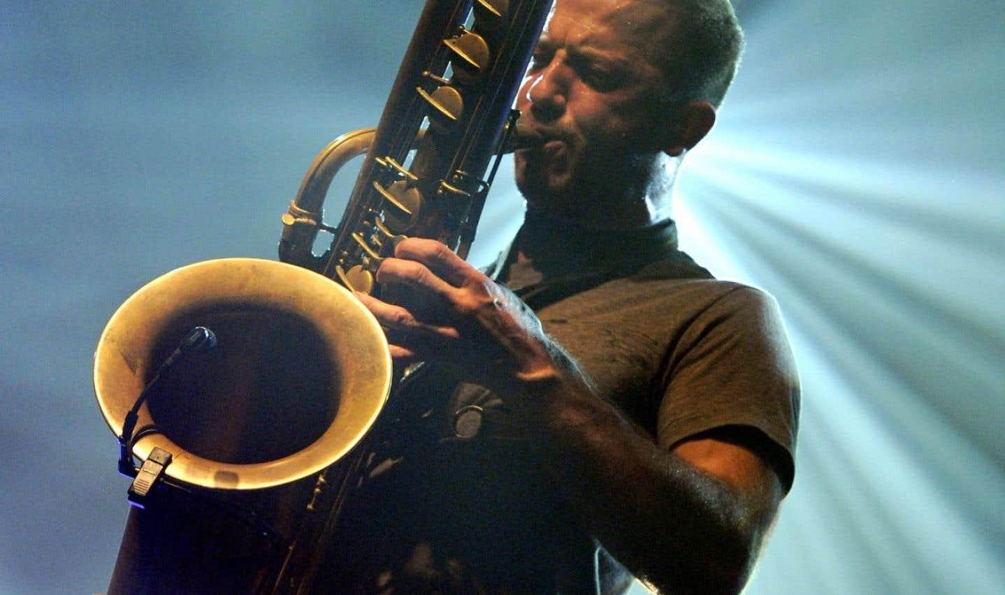 Colin Stetson en 2011, à Rennes