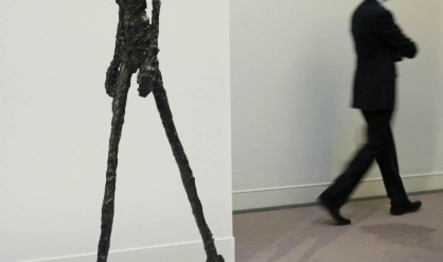 Le record d'un Giacometti redonne confiance au marché de l'art