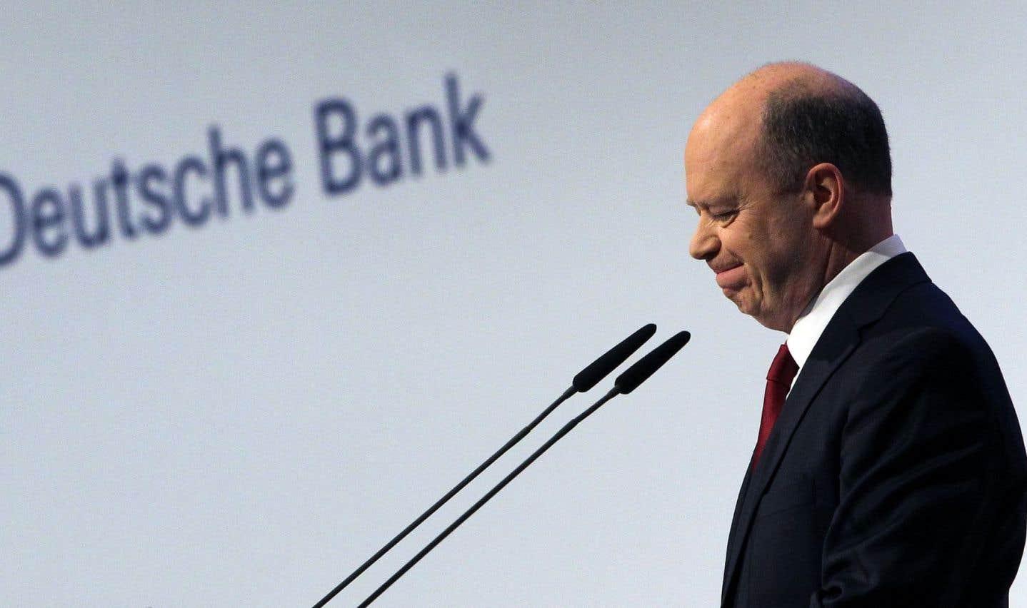 Deutsche Bank nie avoir demandé l'aide de Merkel