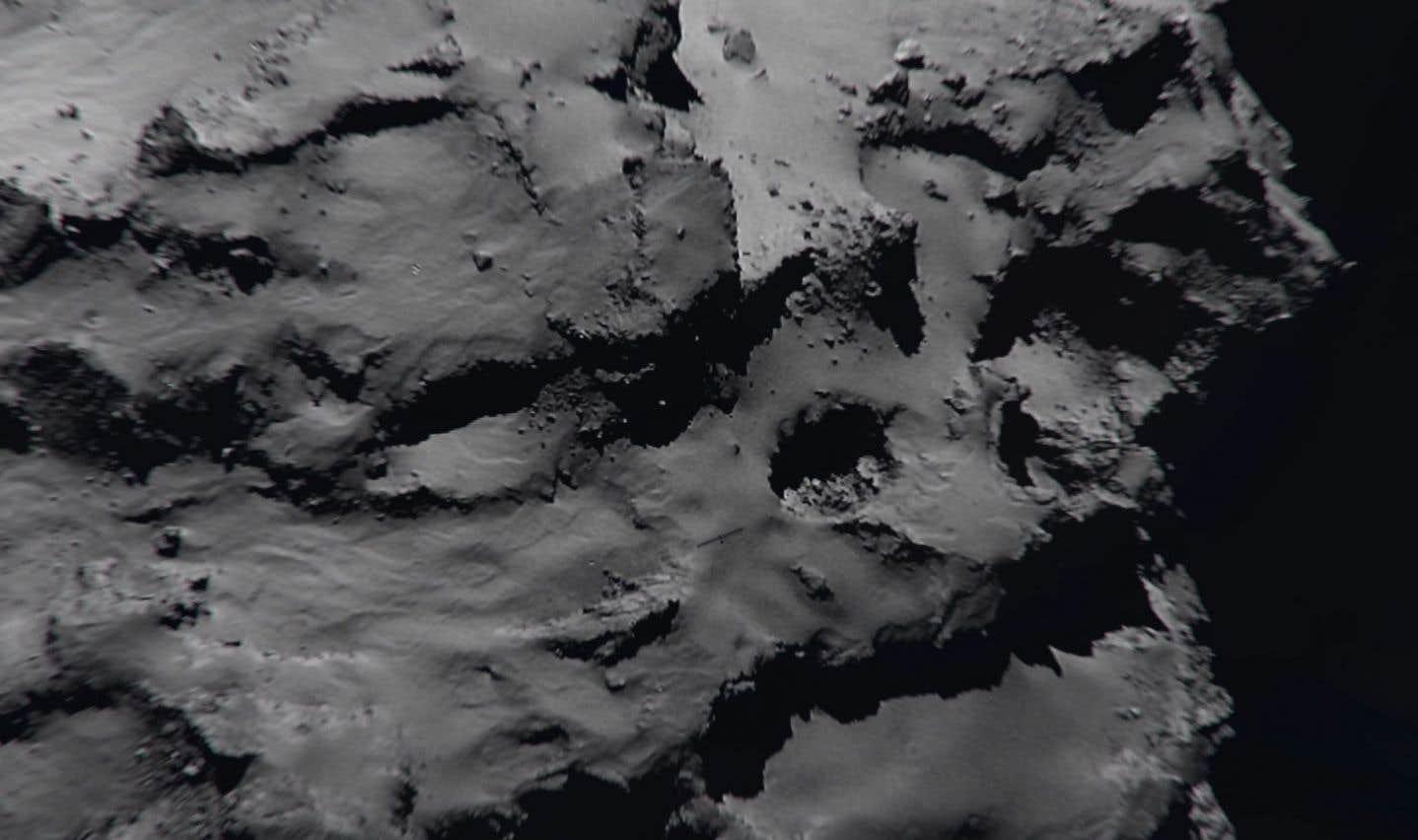 Fin de mission pour la sonde européenne Rosetta