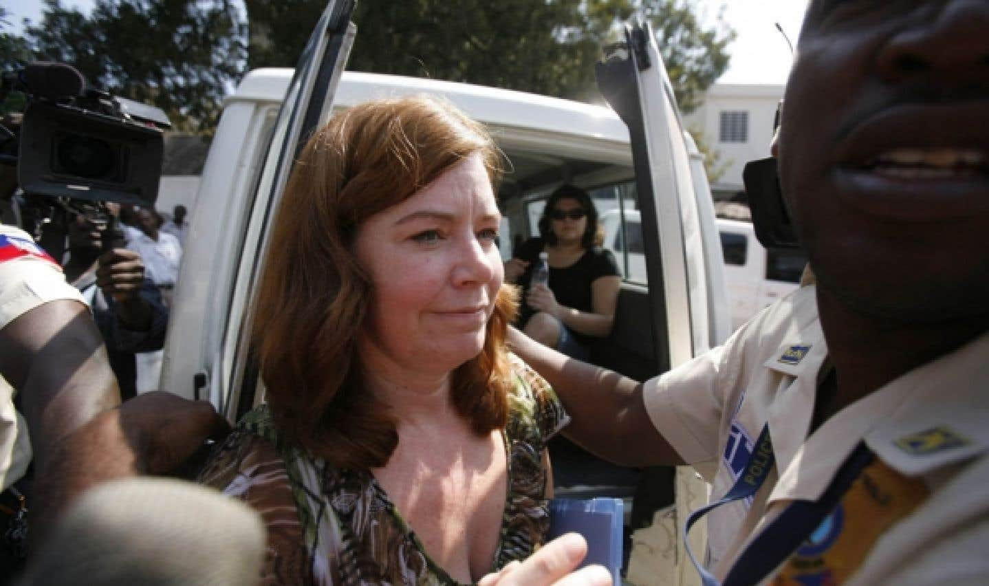 Enlèvement d'enfants en Haïti - La porte-parole américaine interrogée en audience