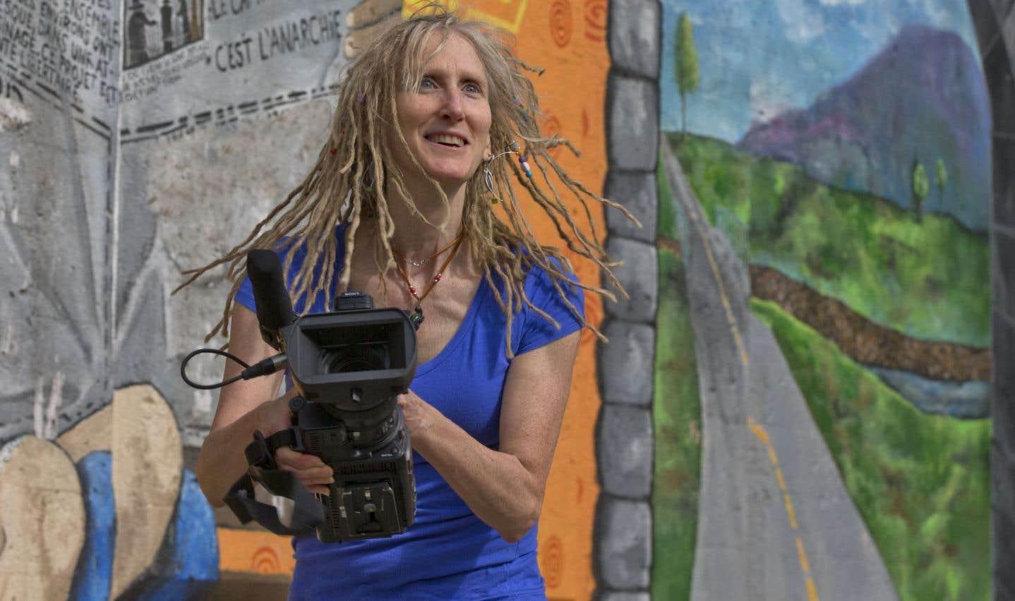 La réalisatrice Ève Lamont