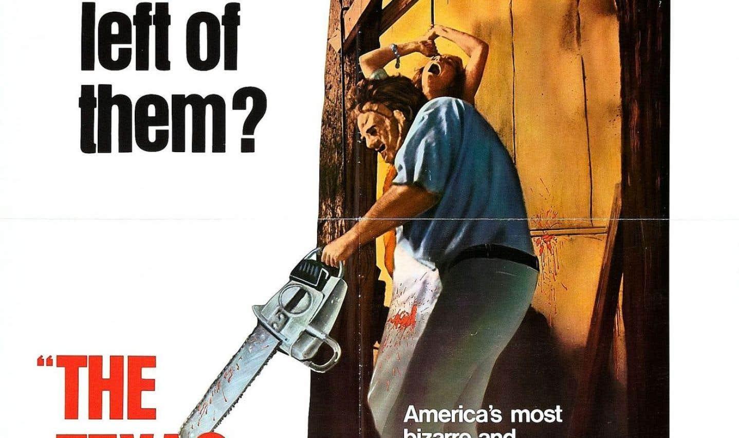 L'affiche originale du film «Massacre à la tronçonneuse», de Tobe Hooper