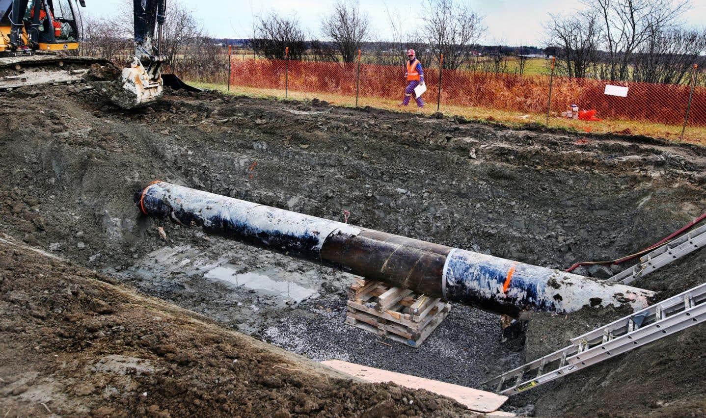 Plus de 60 réparations pour le pipeline 9B