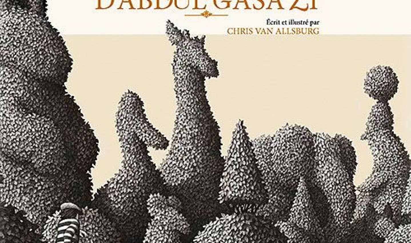 Couverture du livre jeunesse «Le jardin d'Abdul Gasazi», de Chris Van Allsburg