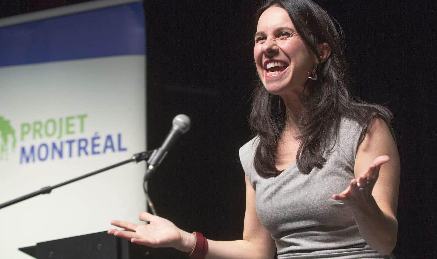 Valérie Plante est élue chef de Projet Montréal