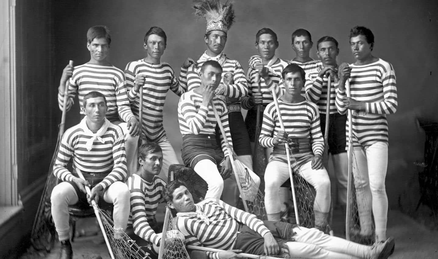 La crosse, ce sport autochtone devenu national