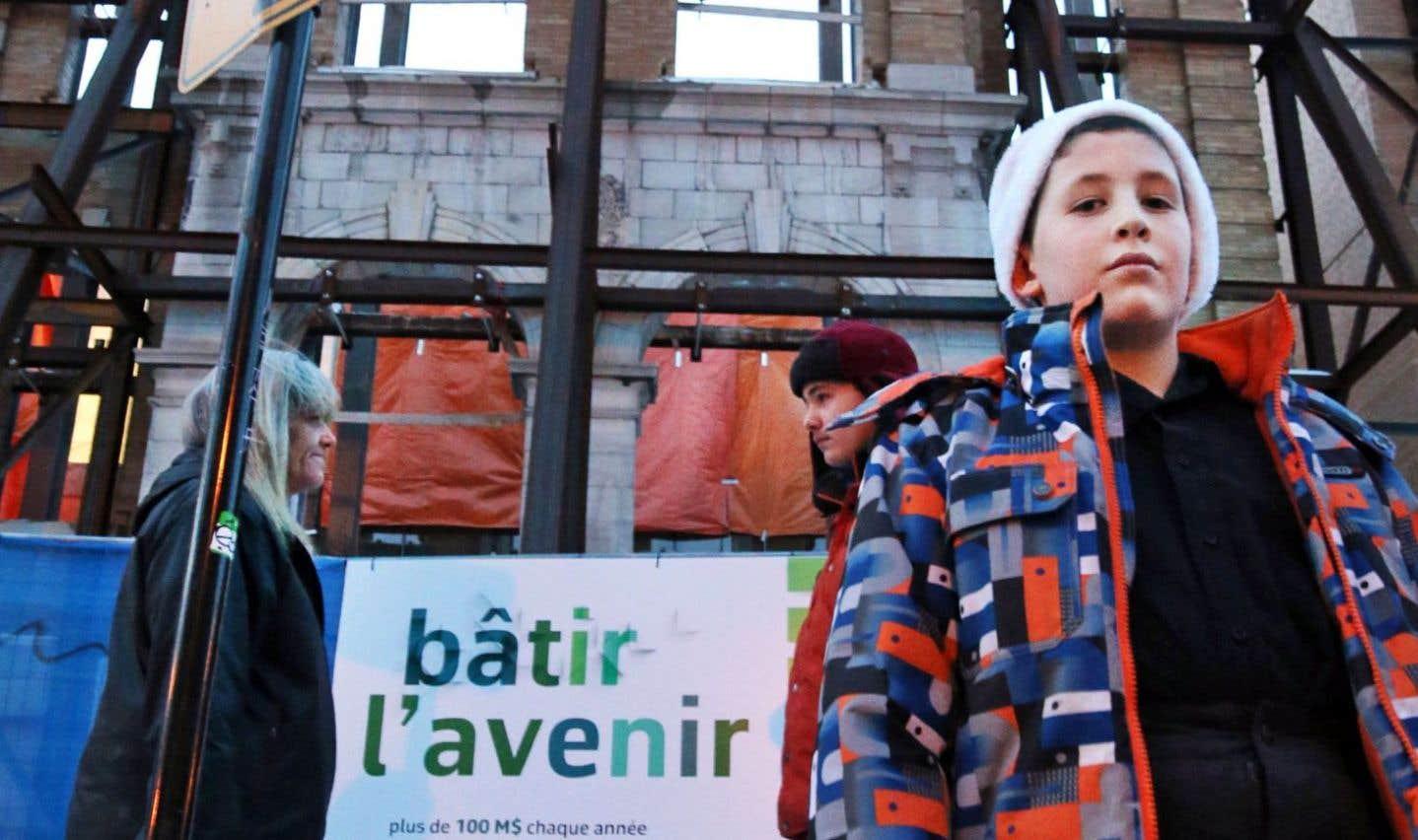 Cinq ans et demi après sa fermeture, l'école Baril attend toujours