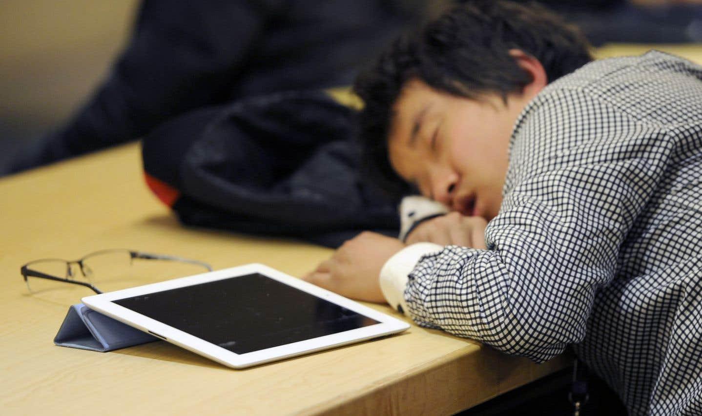 Le déclin des facultés mentales était de quatre à six fois plus important chez les participants qui ne dormaient pas.