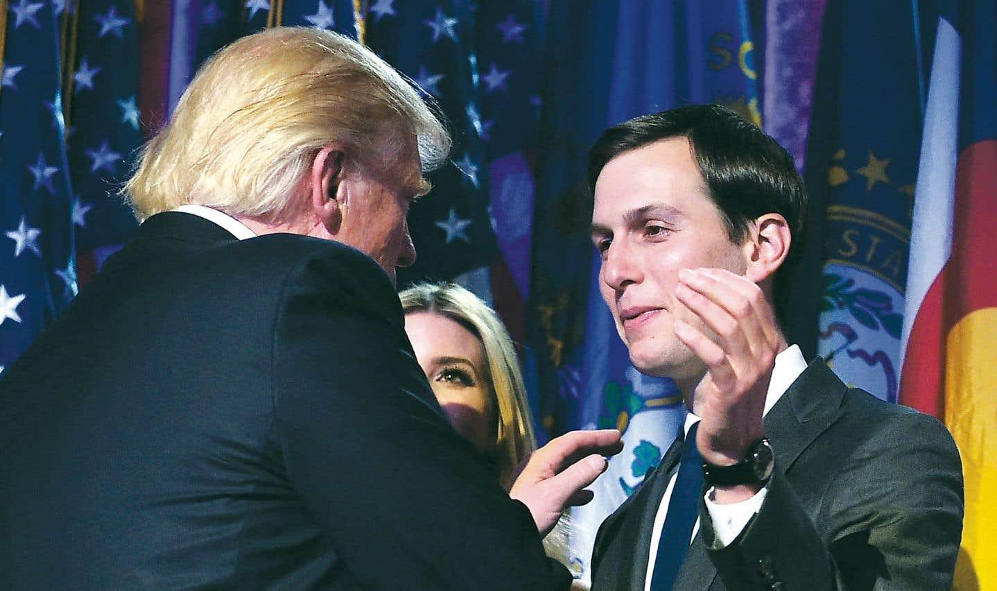 Trump nomme son gendre comme proche conseiller