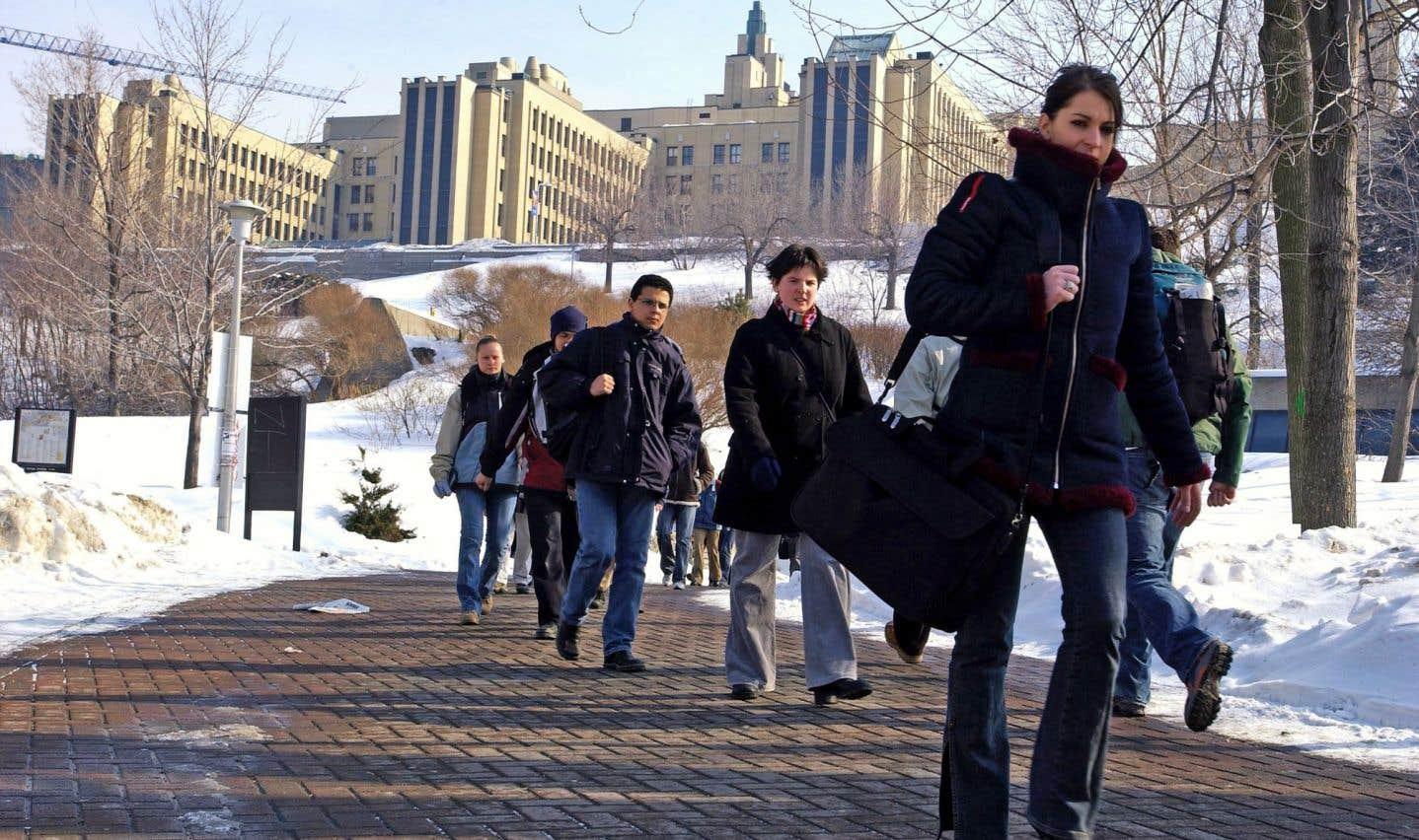 Levée de boucliers à l'Université de Montréal