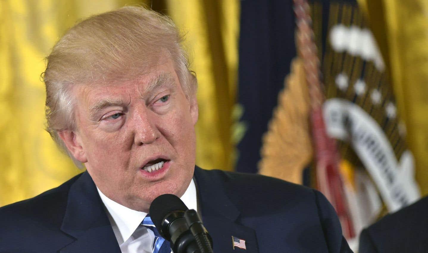 Une polémique sur le soutien populaire de Trump