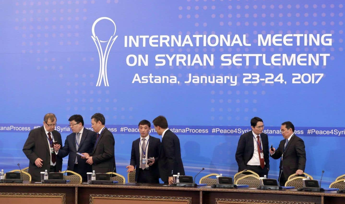 Les négociations sur la Syrie qui se sont déroulées à Astana ont mis en lumière le rôle crucial des médiateurs qui s'efforcent de négocier la paix avec tous les acteurs du conflit syrien.