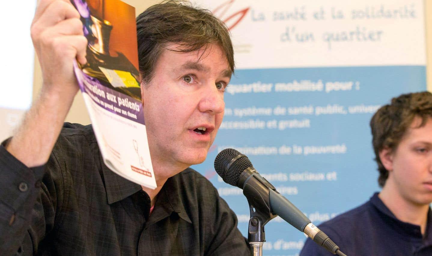 L'organisateur communautaire Stéphane Defoy affirme que le recours à la justice sera envisagé, si nécessaire.