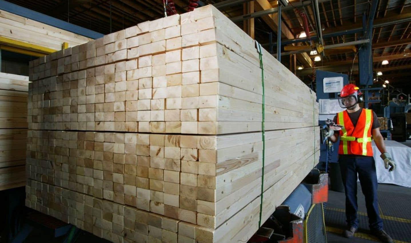 Ciblée par les Américains pour les importations de bois d'oeuvre, Résolu se dit confiante