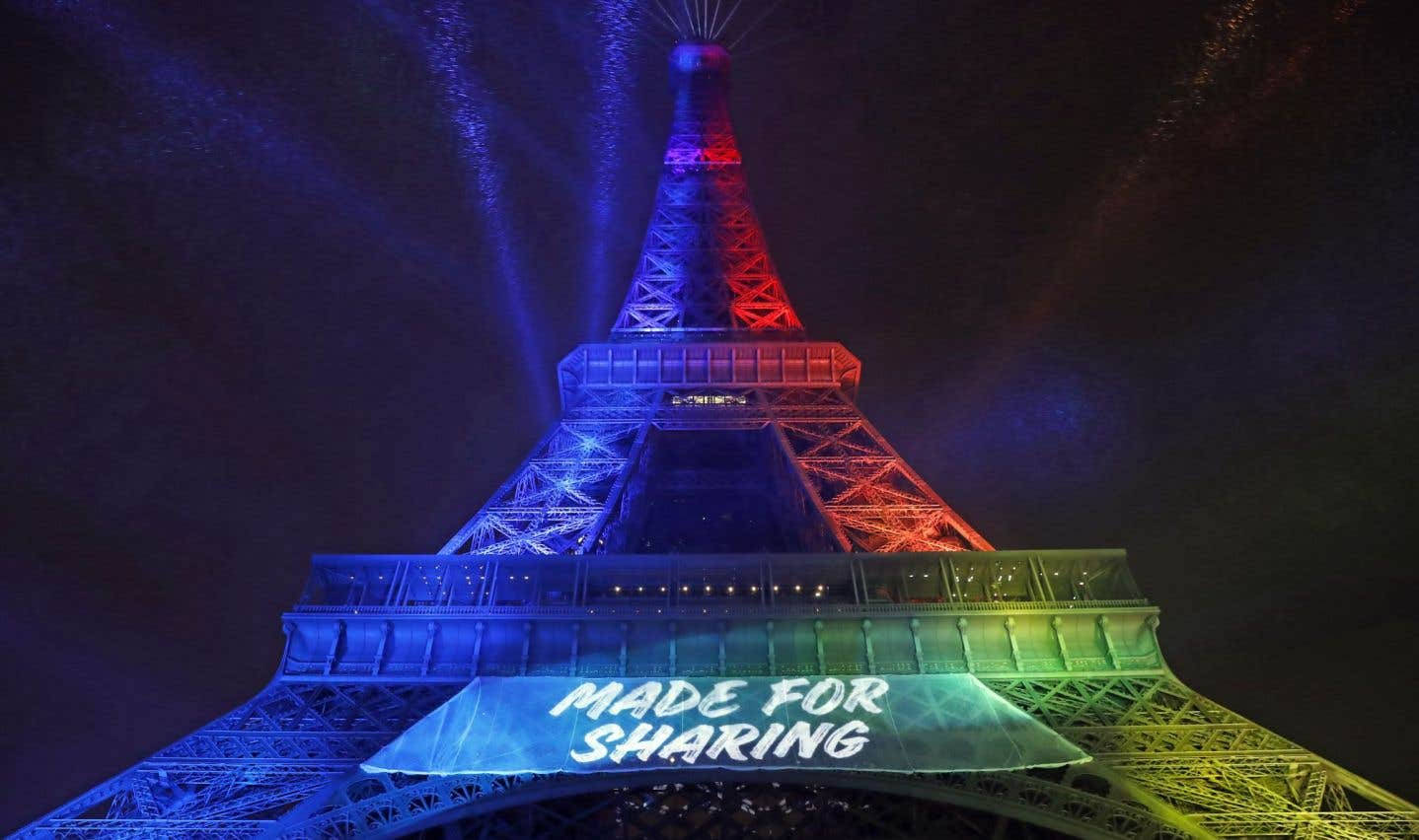 «Made for Sharing» est le slogan de Paris