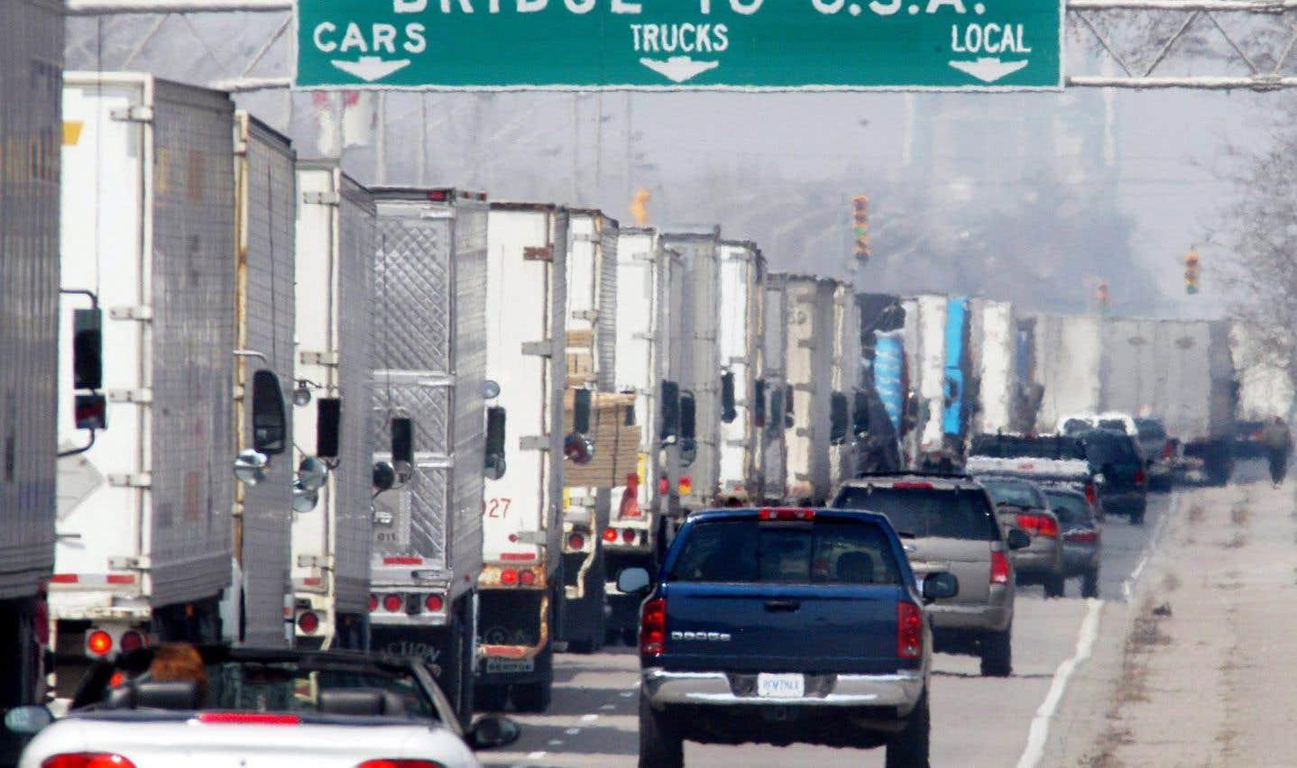 À l'échelle du continent nord-américain, ce sont plus de 70% des échanges commerciaux qui s'effectuent par camion.