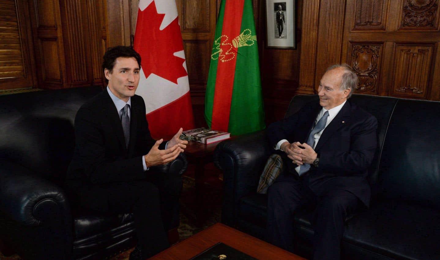 La commissaire à l'éthique enquêtera sur les vacances de Trudeau chez l'Aga Khan
