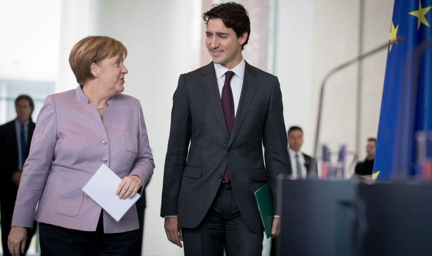 Justin Trudeau défend la contribution du Canada à l'OTAN