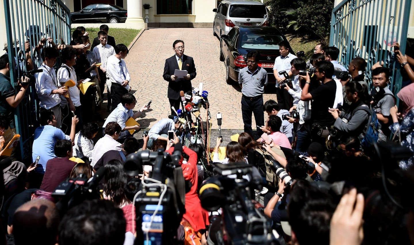 L'ambassadeur de la Corée du Nord à Kuala Lumpur a affirmé ne pas faire confiance à l'enquête malaisienne.