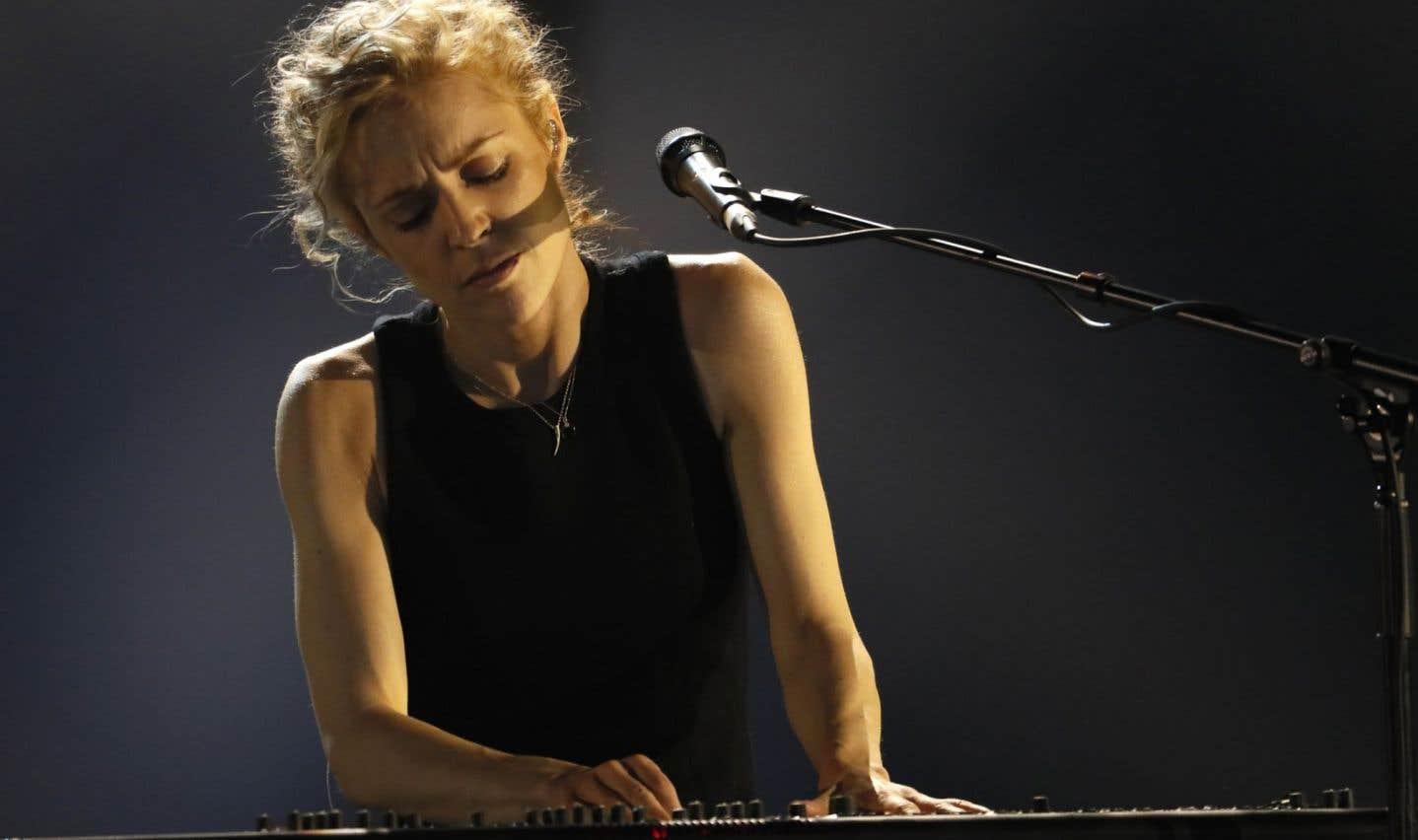 L'auteure-compositrice-interprète Agnes Obel à Paris le 10 février 2017