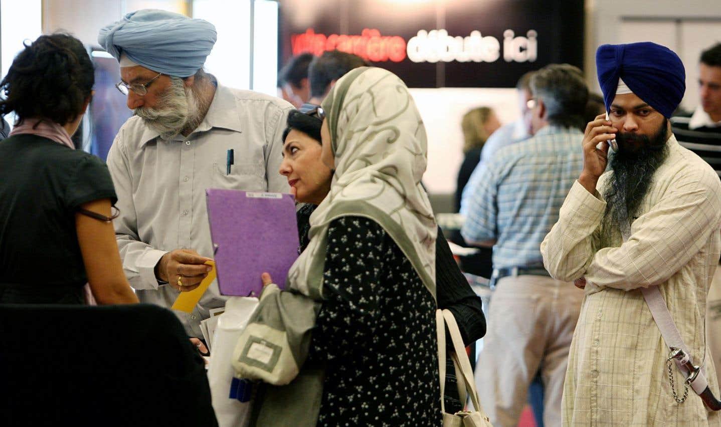 Près de 74% des conjointes d'immigrants économiques avaient un emploi.