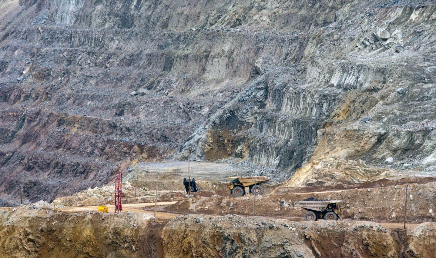 La mine de fer d'ArcelorMittal, à Fermont