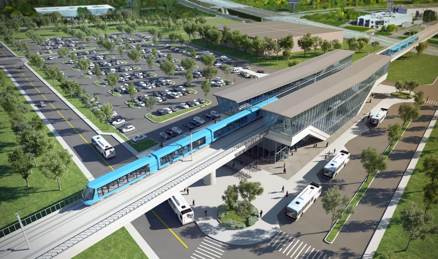Selon l'IRIS, le REM sert davantage les intérêts de la Caisse que les Montréalais et les usagers du transport en commun.