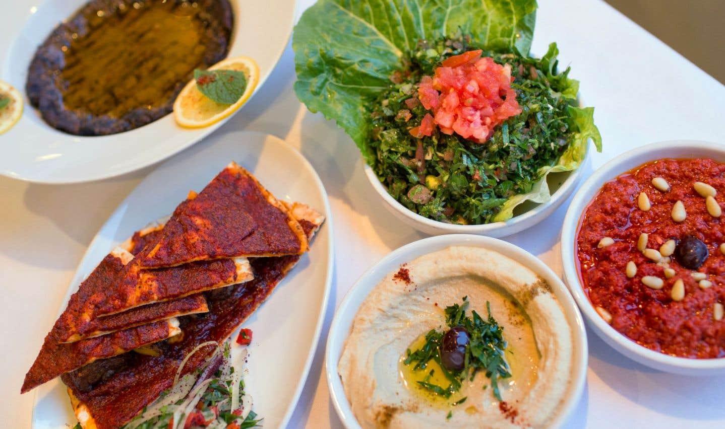 Les plats du restaurant Alep sont tous dans le registre des cuisines traditionnelles arménienne et syrienne.