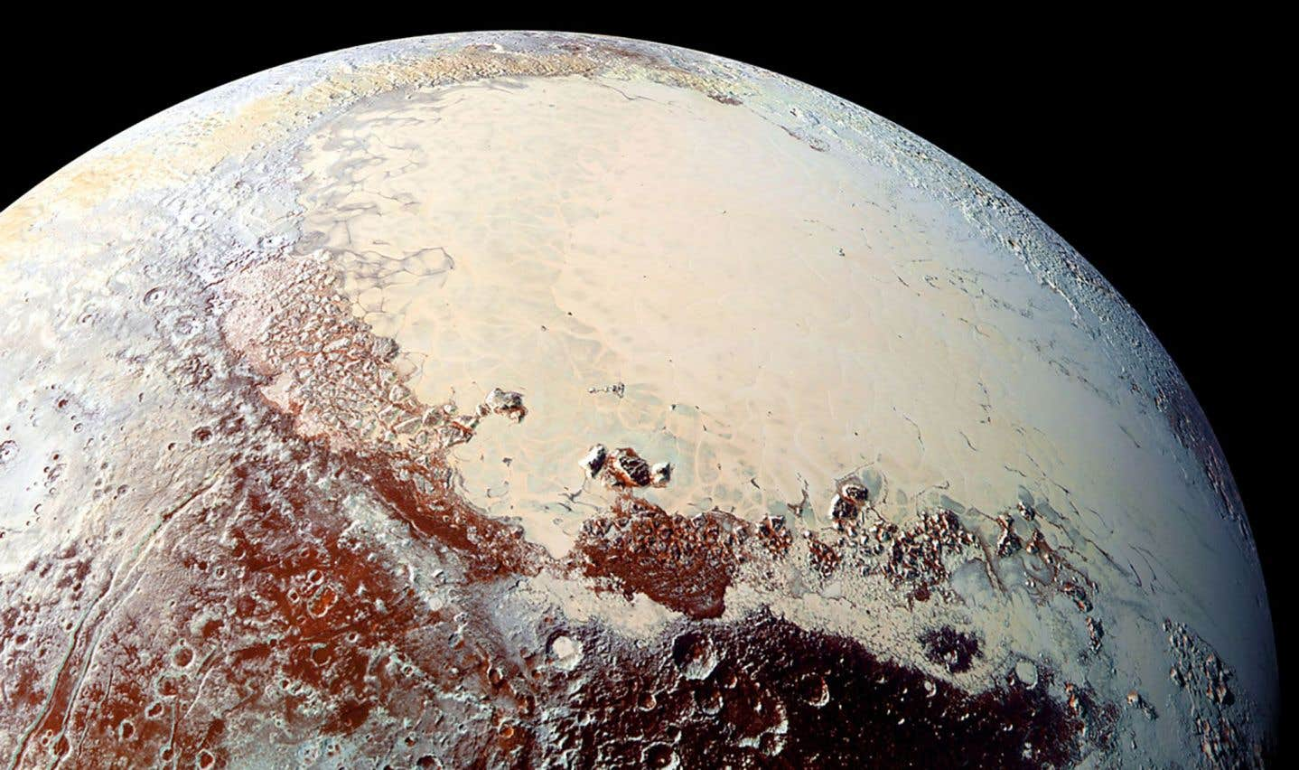 Image de Pluton captée par la sonde spatiale