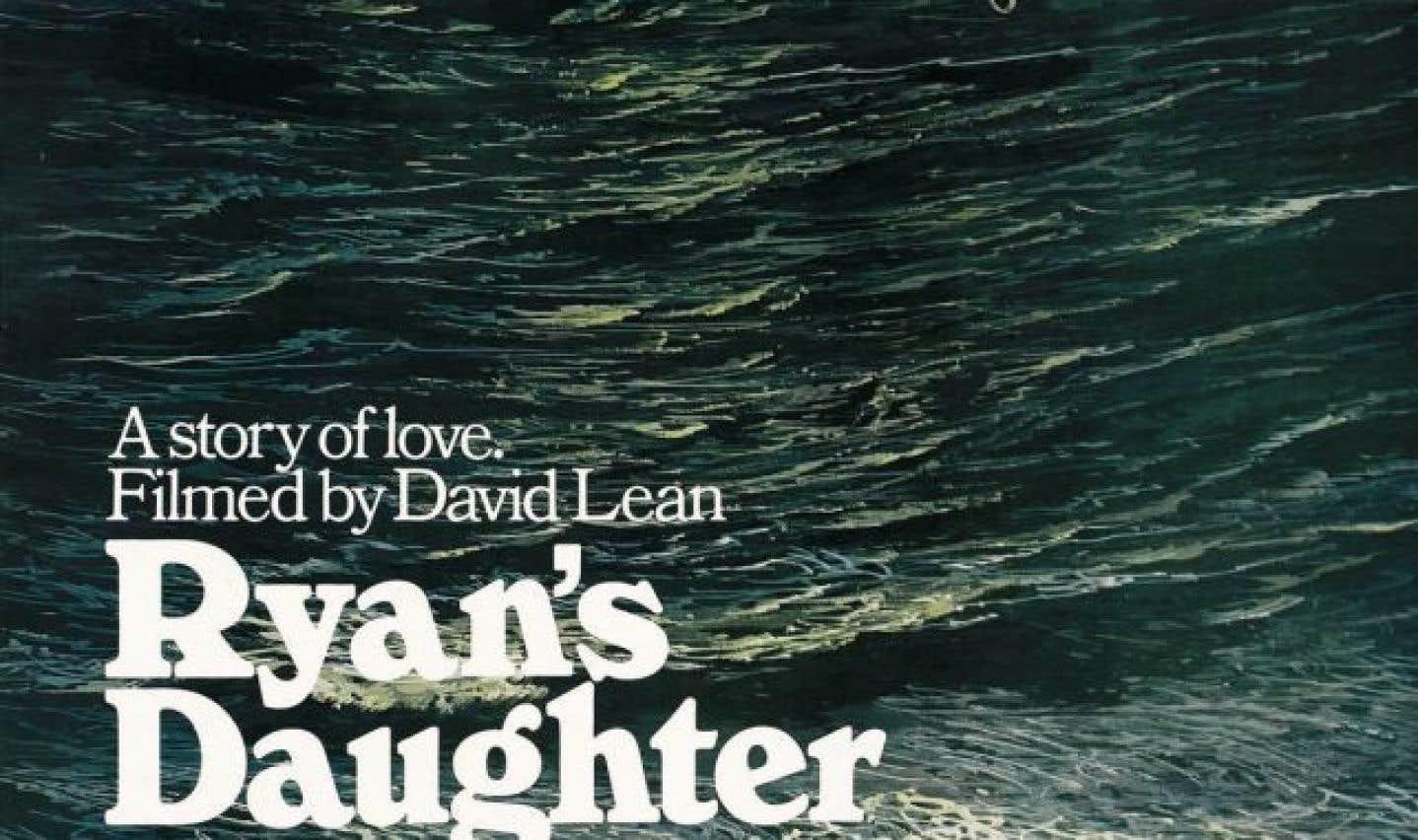 Affiche originale du film «La fille de Ryan»