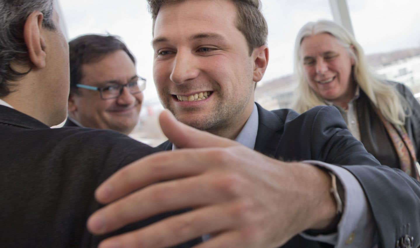 Seul candidat, Gabriel Nadeau-Dubois représentera QS dans Gouin