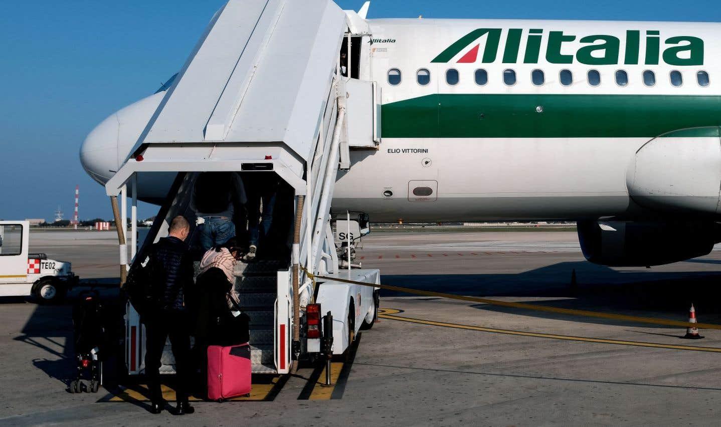 Alitalia va licencier 20% de son personnel