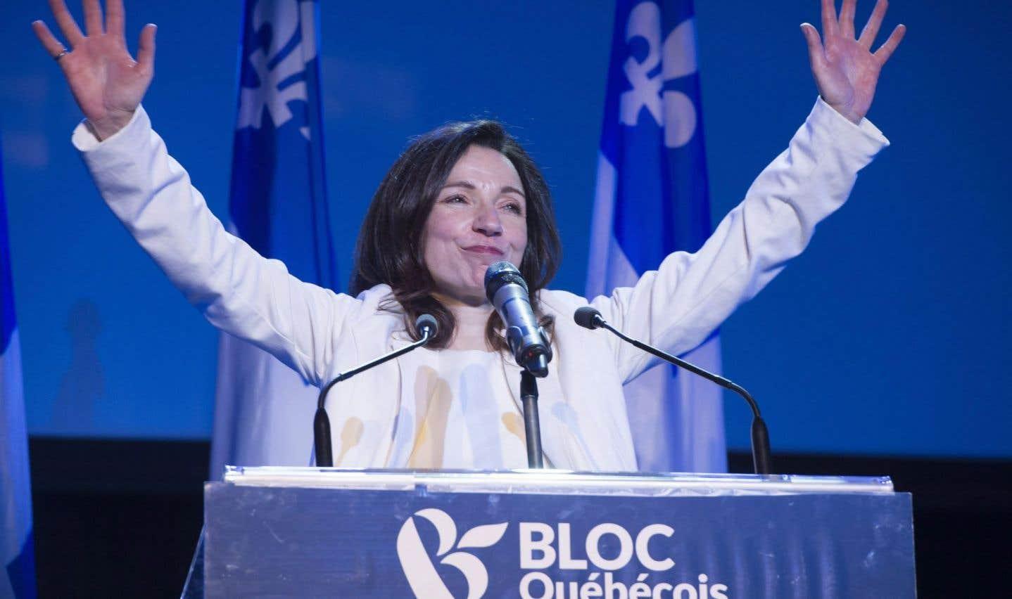 Bloc québécois: Martine Ouellet dévoile son caucus