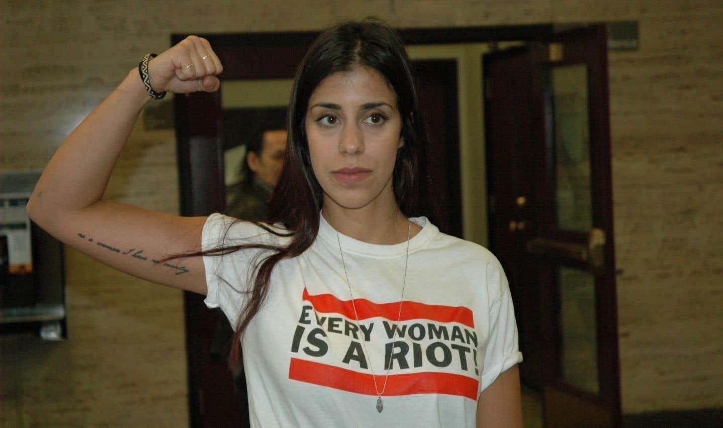 La Femen Neda Topaloski acquittée