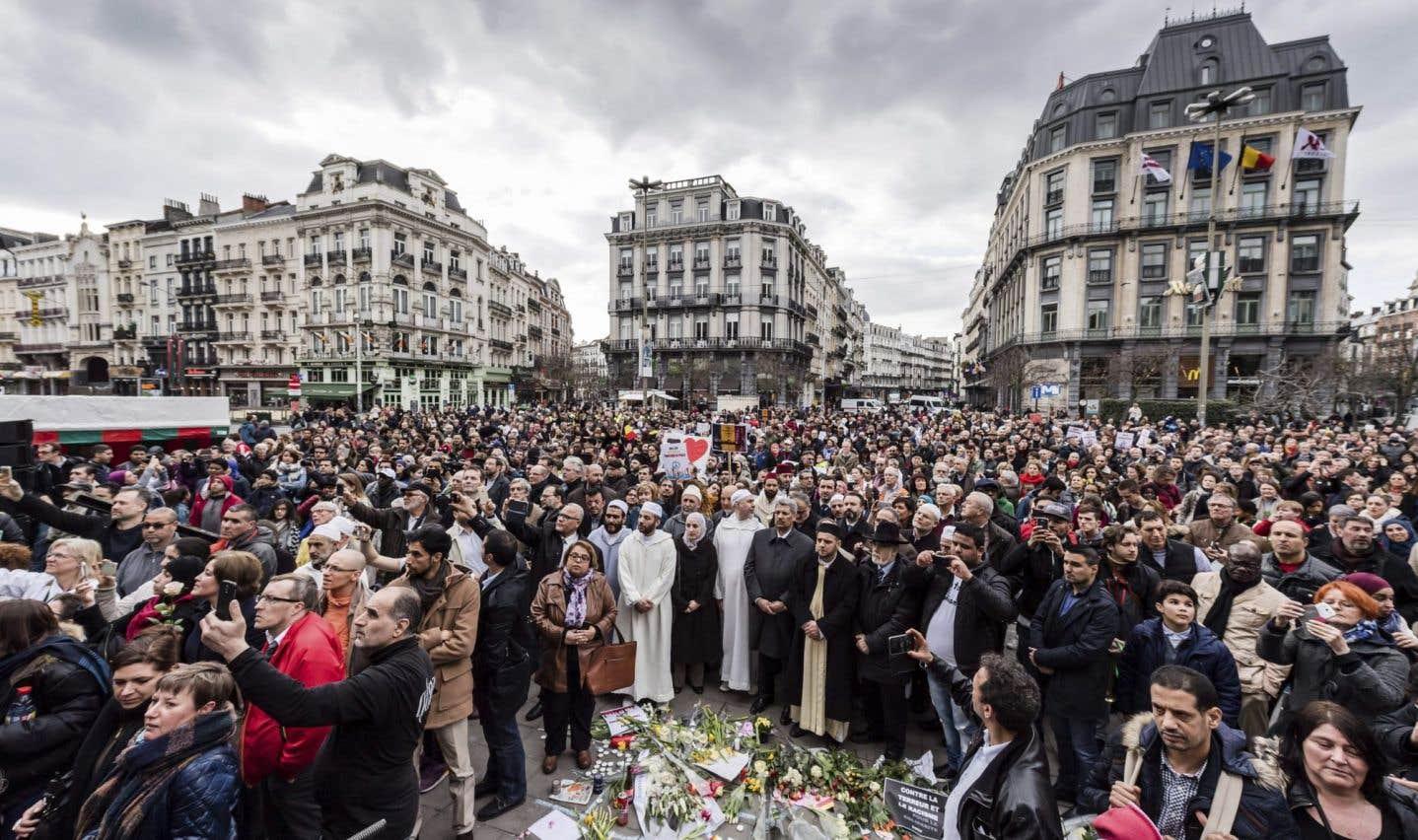 Unis dans le souvenir des attentats de Bruxelles