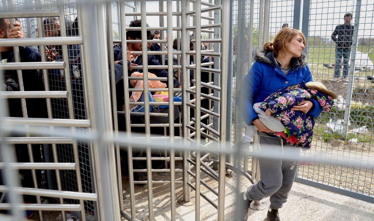 Les demandeurs d'asile  placés en détention