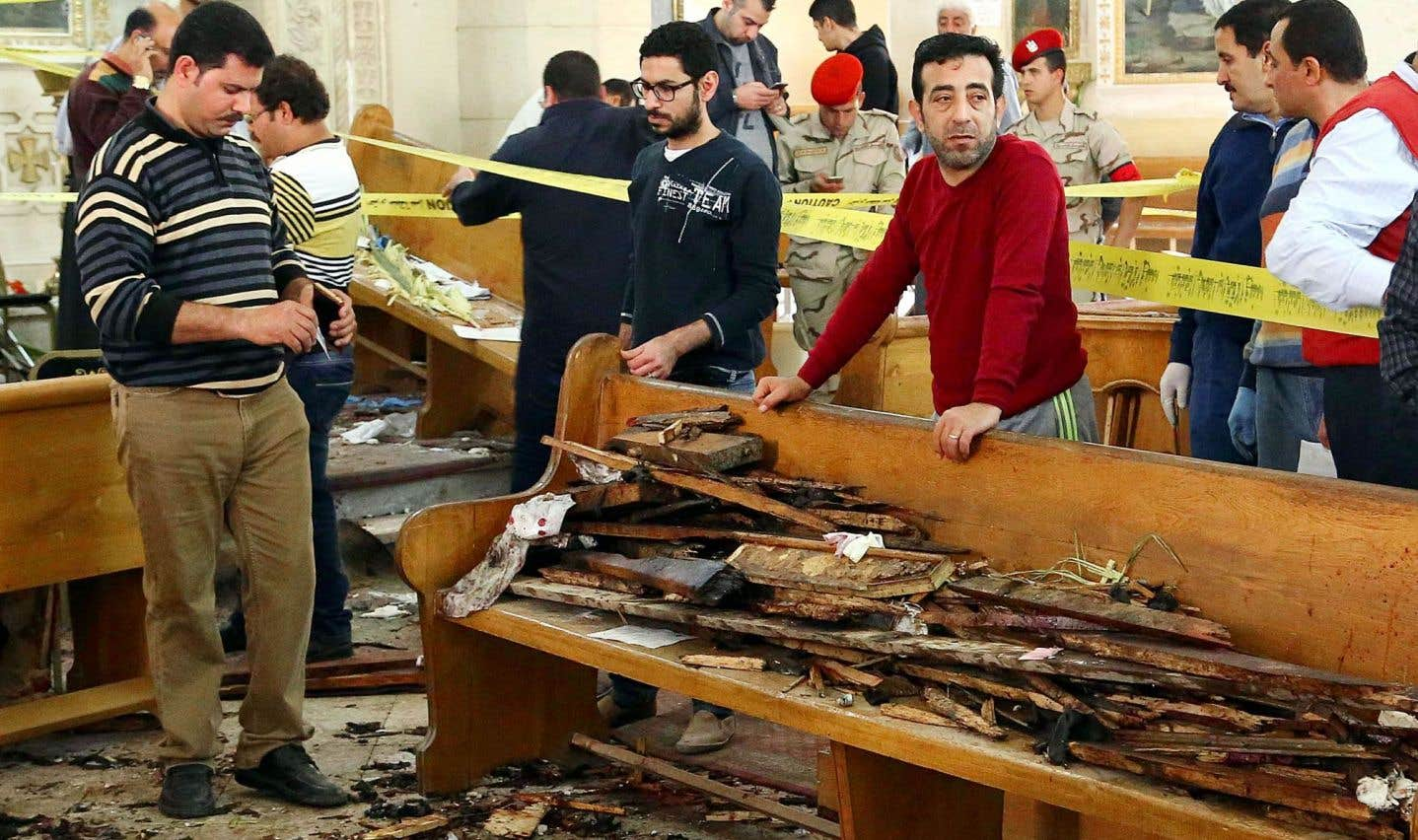 Le 9 avril, la communauté copte de la ville de Tanta, en Égypte, a été visée par le groupe État islamique durant la célébration de la fête des Rameaux.