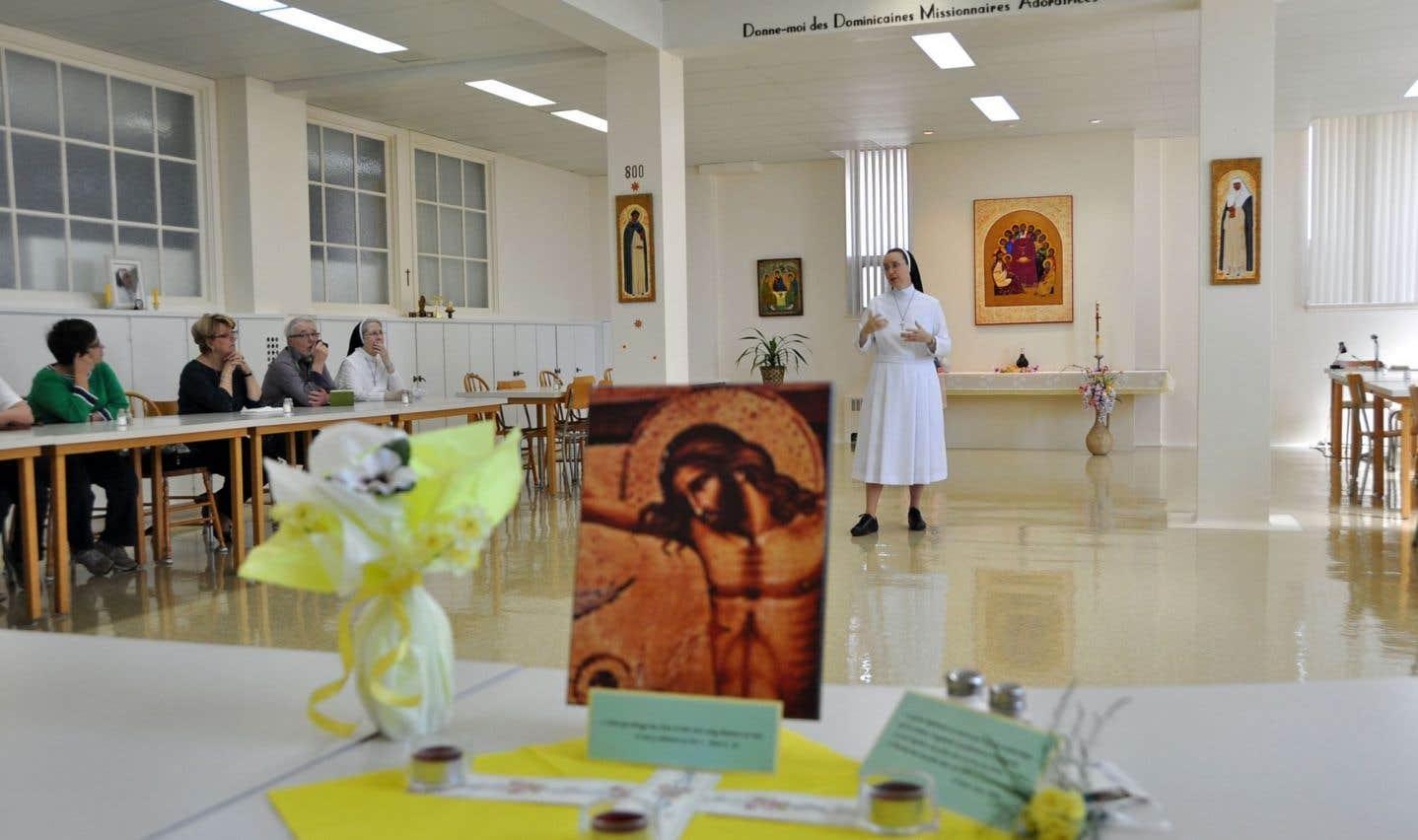 Journée «Au-delà des murs» chez les Dominicaines missionnaires adoratrices