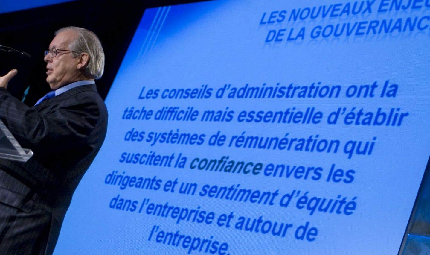Yvan Allaire plaide en faveur de C.A. activistes