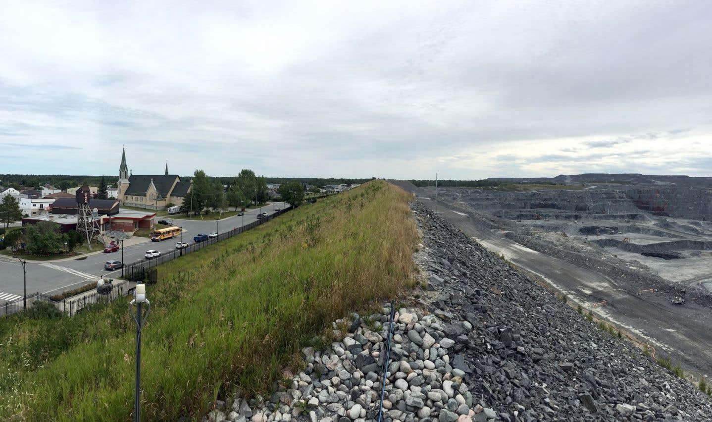 Québec autorise l'expansion de la mine Canadian Malartic