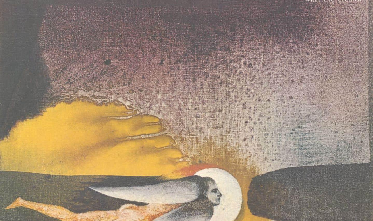 Affiche de l'Expo 67 reprenant une oeuvre d'Alfred Pellan