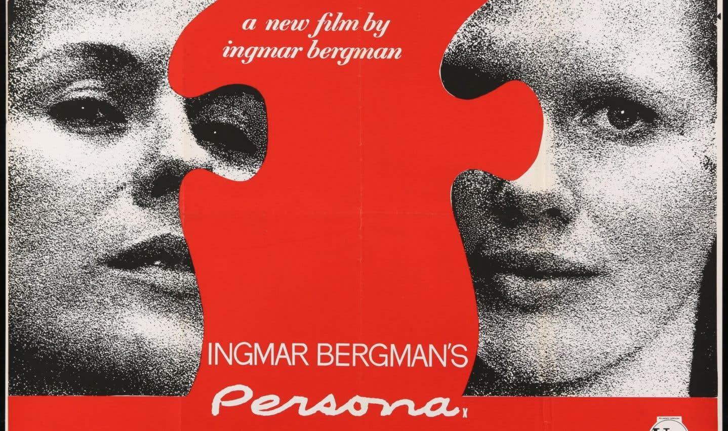 Affiche originale du film Persona du réalisateur Ingmar Bergman