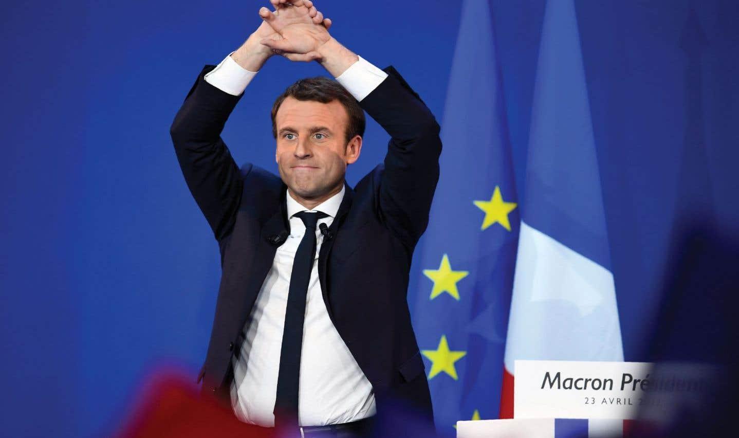 Les marchés saluent un «scénario parfait» avec Macron