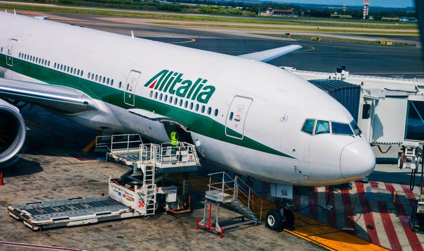 Le conseil d'administration au chevet de la compagnie aérienne Alitalia