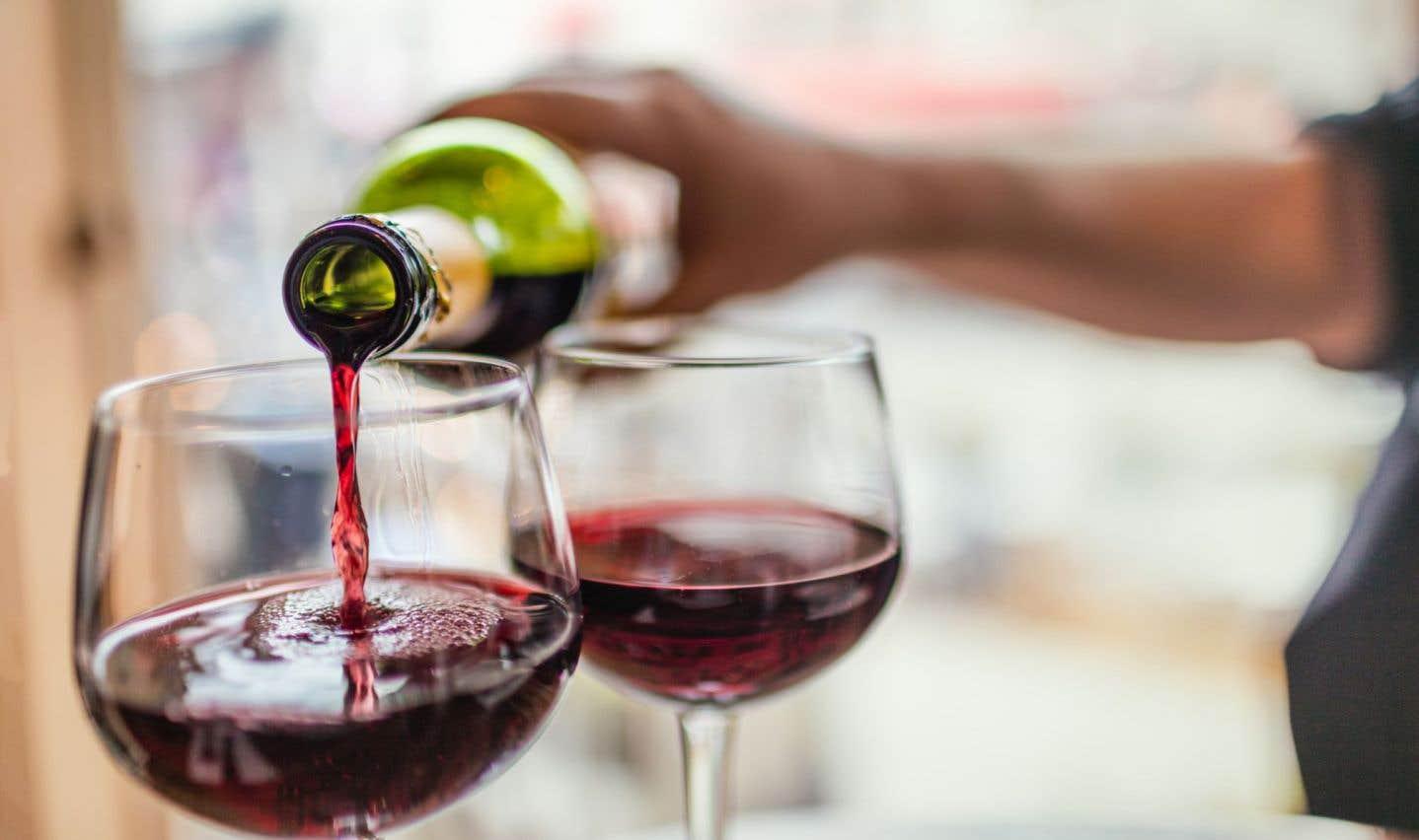 Un salon des vins tout en arômes