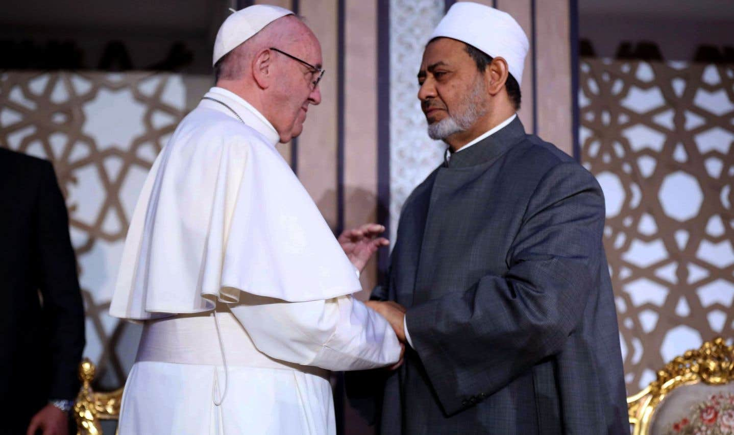 En Égypte, le pape dénonce les violences au «nom de Dieu» et le populisme