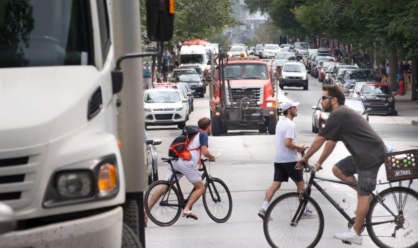 Priorité à la sécurité des cyclistes et des piétons à Montréal